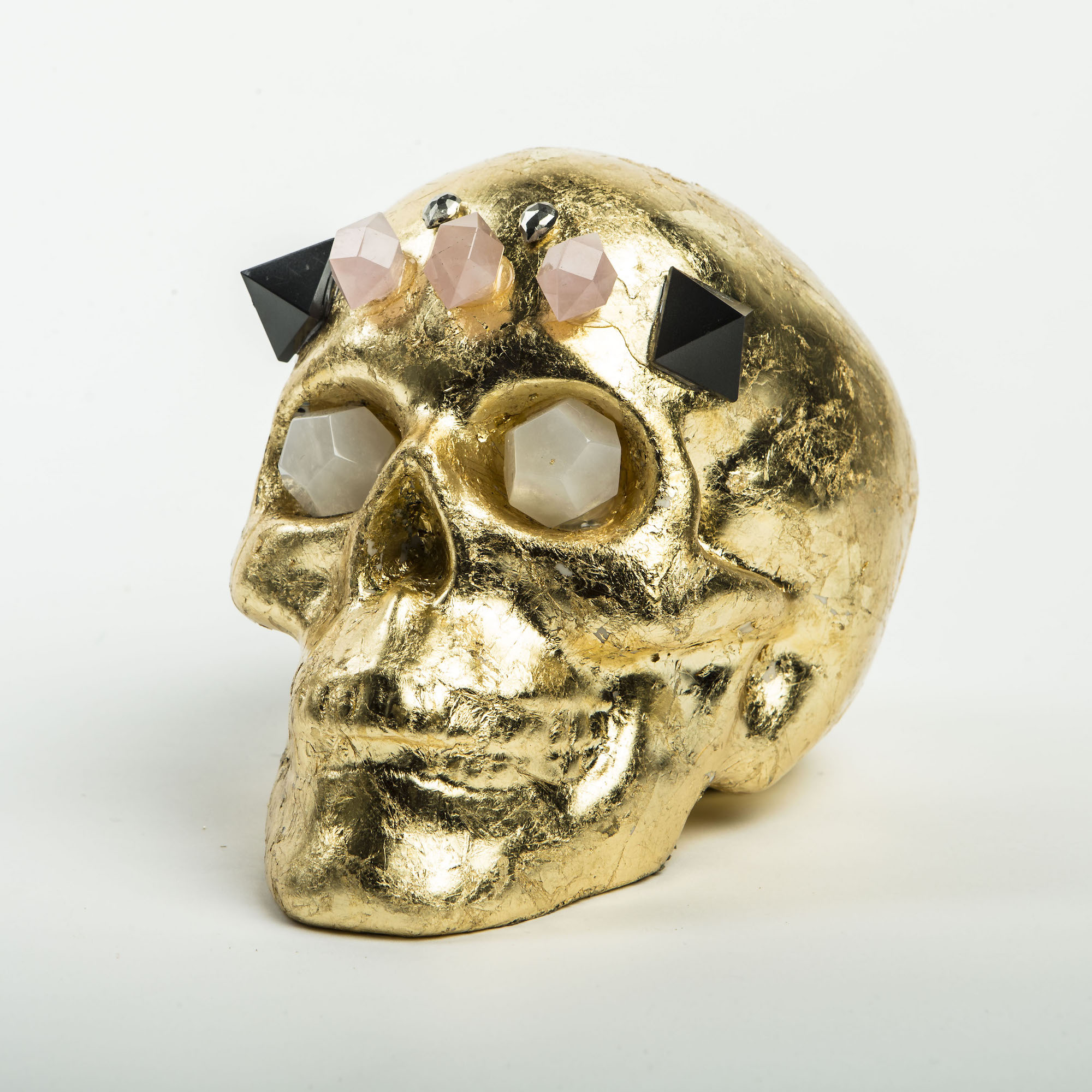 Pulp Home - Studded Gold Skull