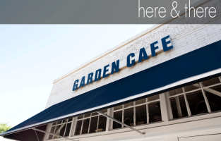 here and there: Garden Cafe