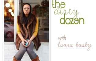 The Dirty Dozen :: Laura of The Black Frames