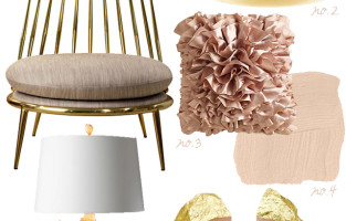 PULP Hue | Blush & Brass