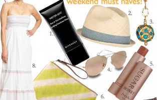 Summertime Weekend | Must Haves