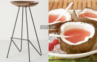 Sit + Sip: Pink Bikini Cocktail