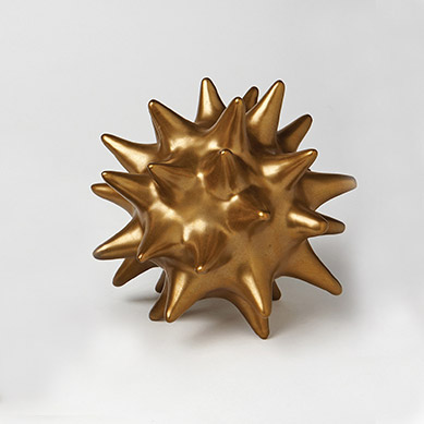 Pulp Home - Large Antique Gold Urchin