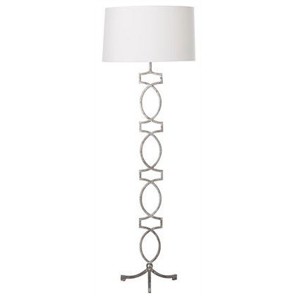 Pulp Home - Cooper SIlver Leaf Floor Lamp