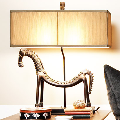 Pulp Home - Tamil Horse Lamp