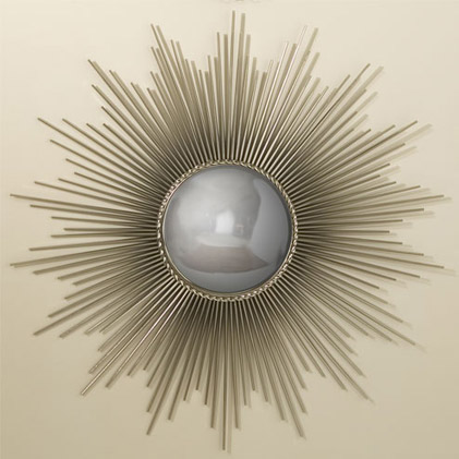 Pulp Home - sunburst-mirror-nickel