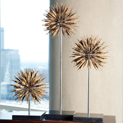 Pulp Home - dandelion sculptures