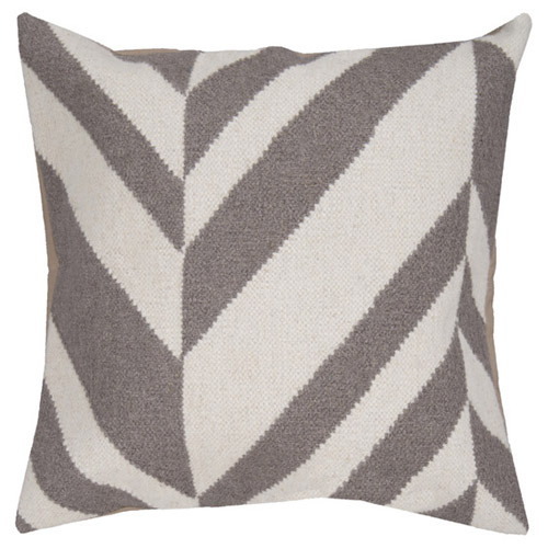 Pulp Home - grey-offset-pillow