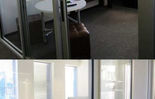 Before + After: An Edgy Ad Executive's Office