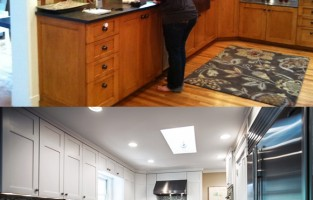 Before & After: Elegant-Mod Kitchen Renovation