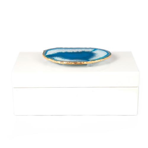 AC-1120-Med-White-Lacquered-Box-with-Teal-Agate-1