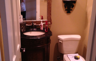 Before & After: Powder Bath at #WillowbendTransitional