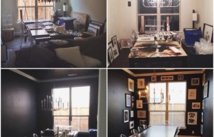 Work In Progress: #StonelakeChic Dining Room Progress