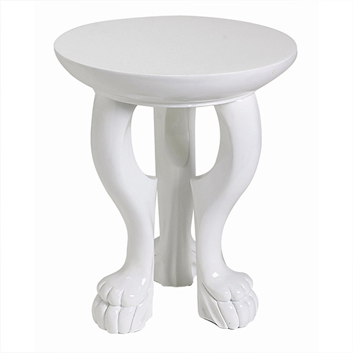 White-Lola-Accent-Table