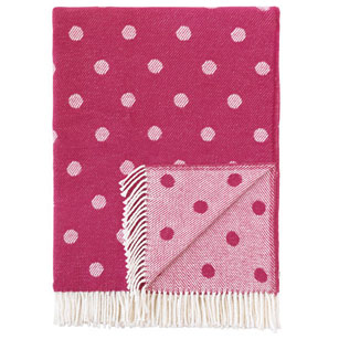 Pulp Home - Polka Dot Throw - Pink