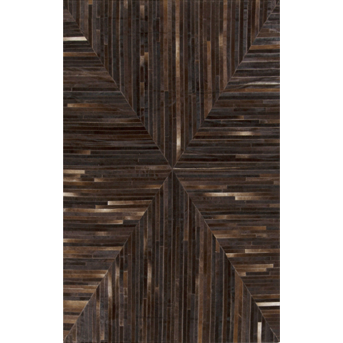 Pulp Home – Brown Mitered Rug