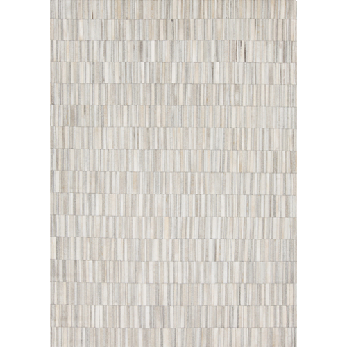 Pulp Home - Ivory Stripe Mosaic Rug