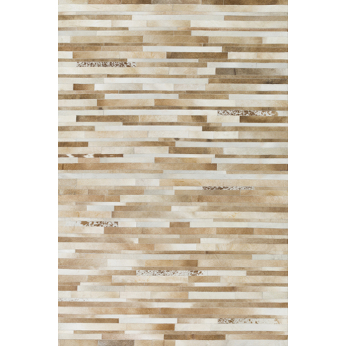 Pulp Home - Tan Hide Stripes Rug