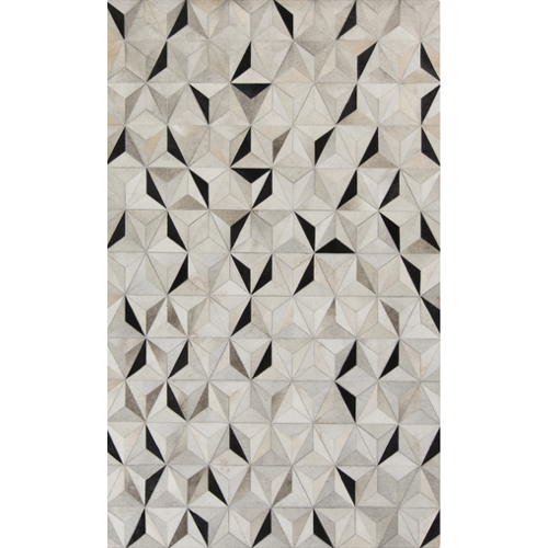 Pulp Home Trail Rug Gray