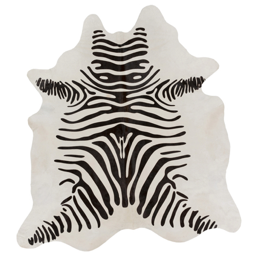 Pulp Home – Zebra Hide Rug