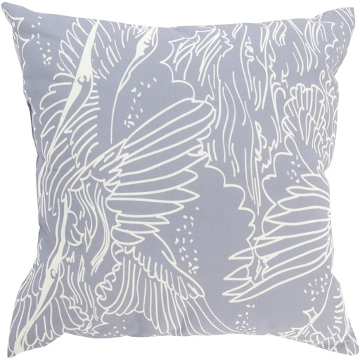 Pulp Home - Avian Pillow Charcoal