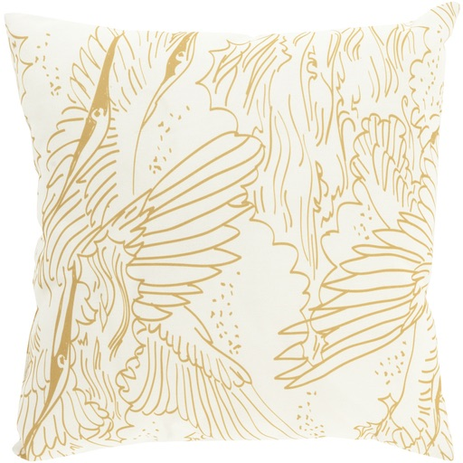 Pulp Home - Avian Pillow Gold
