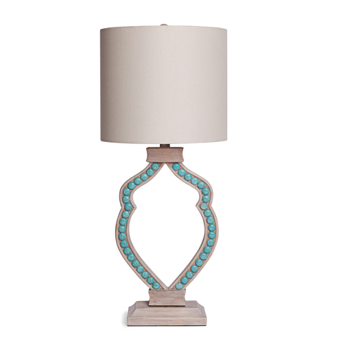 Pulp Home – Cabochon Lamp Turquoise