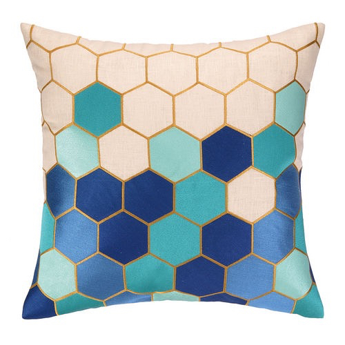 Pulp Home – Carlsbad Pillow Blue