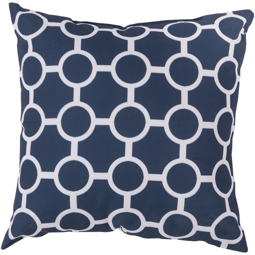 Pulp Home - Chain Pillow Cobalt Gray