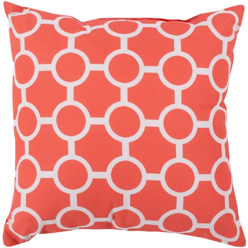 Pulp Home - Chain Pillow Coral Gray