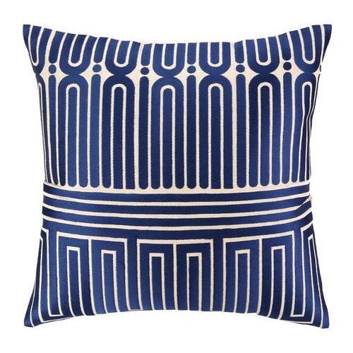 Pulp Home - Garden Maze Pillow Blue