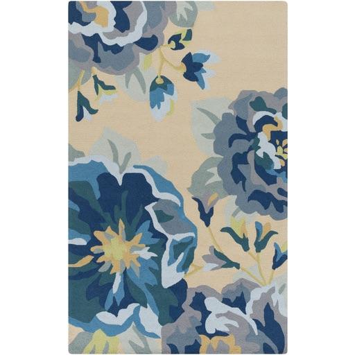 Pulp Home - Garden Rug Blue