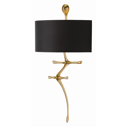 Pulp Home - Gilbert Sconce Brass