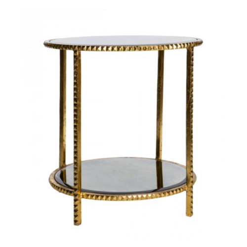 Pulp Home - Gold Stud Side Table