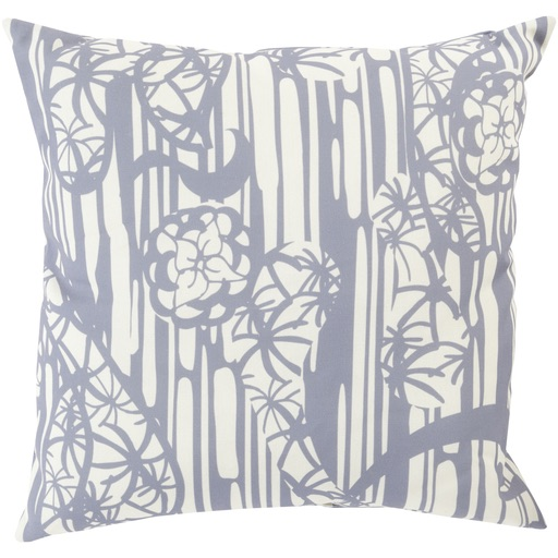 Pulp Home - Japanese Garden Pillow Gray
