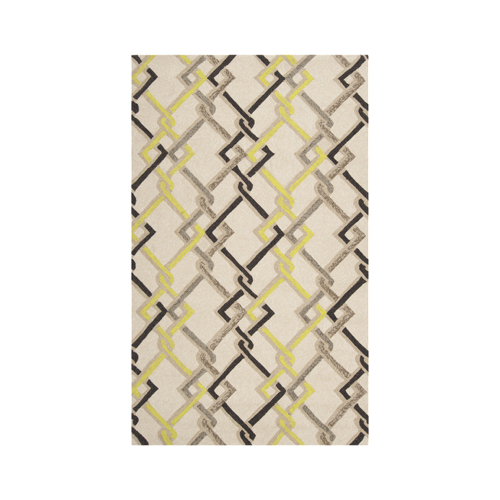 Pulp Home - Links Rug Ivory Lime