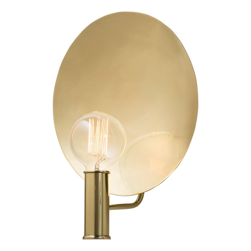 Pulp Home - Lorita Sconce Brass