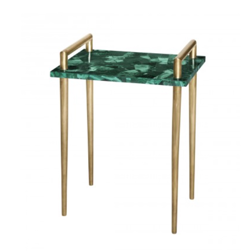 Pulp Home - Malachite Side Table