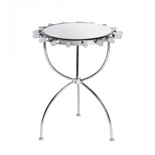 Pulp Home - Quartz Nickel Side Table
