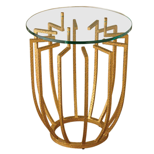 Pulp Home - Spoke Side Table Gold