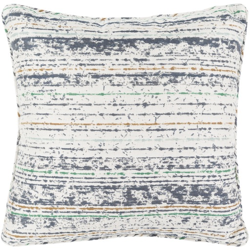 Pulp Home - Weathered Stripe Pillow Gray