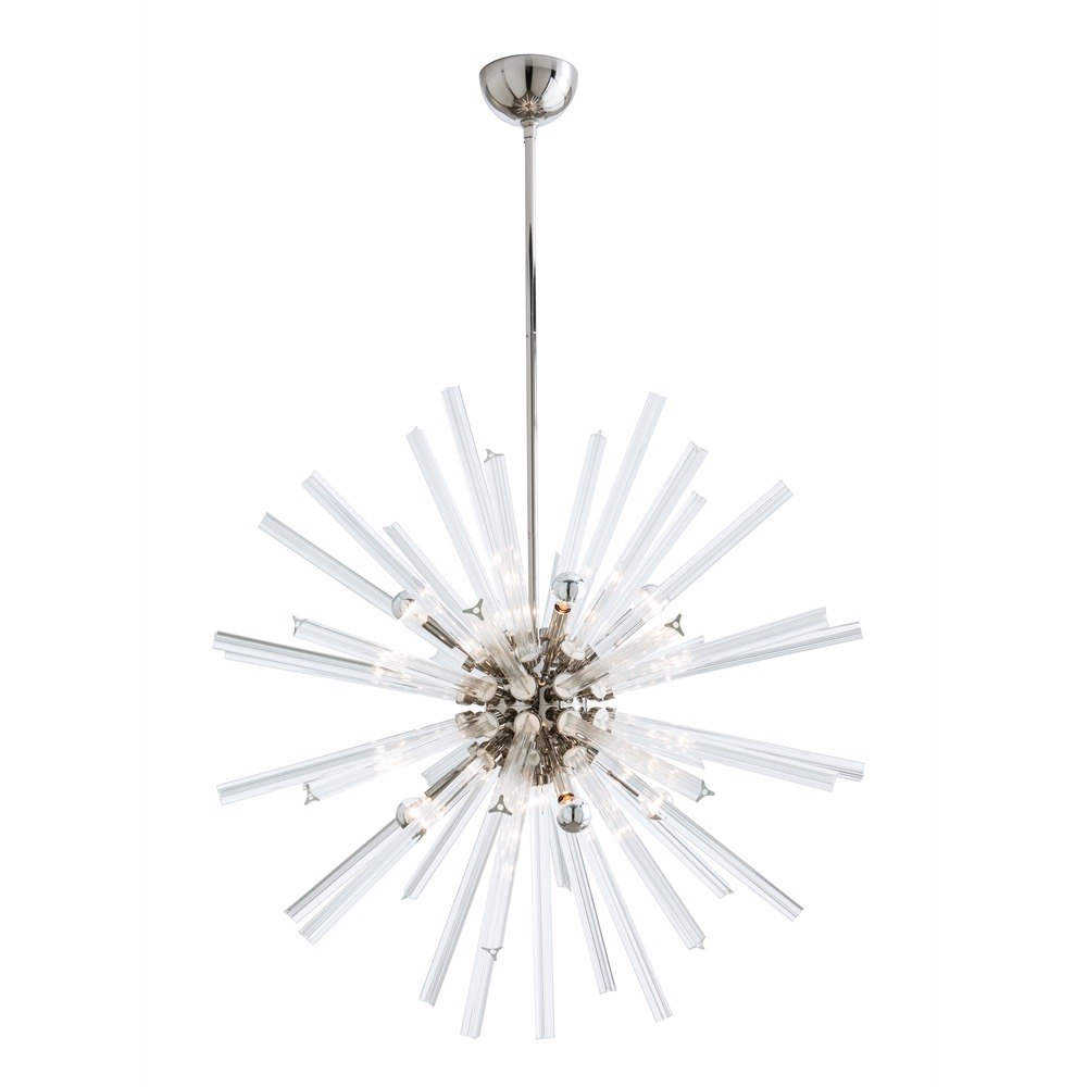 Pulp Home - Hanley Large Chandelier Nickel