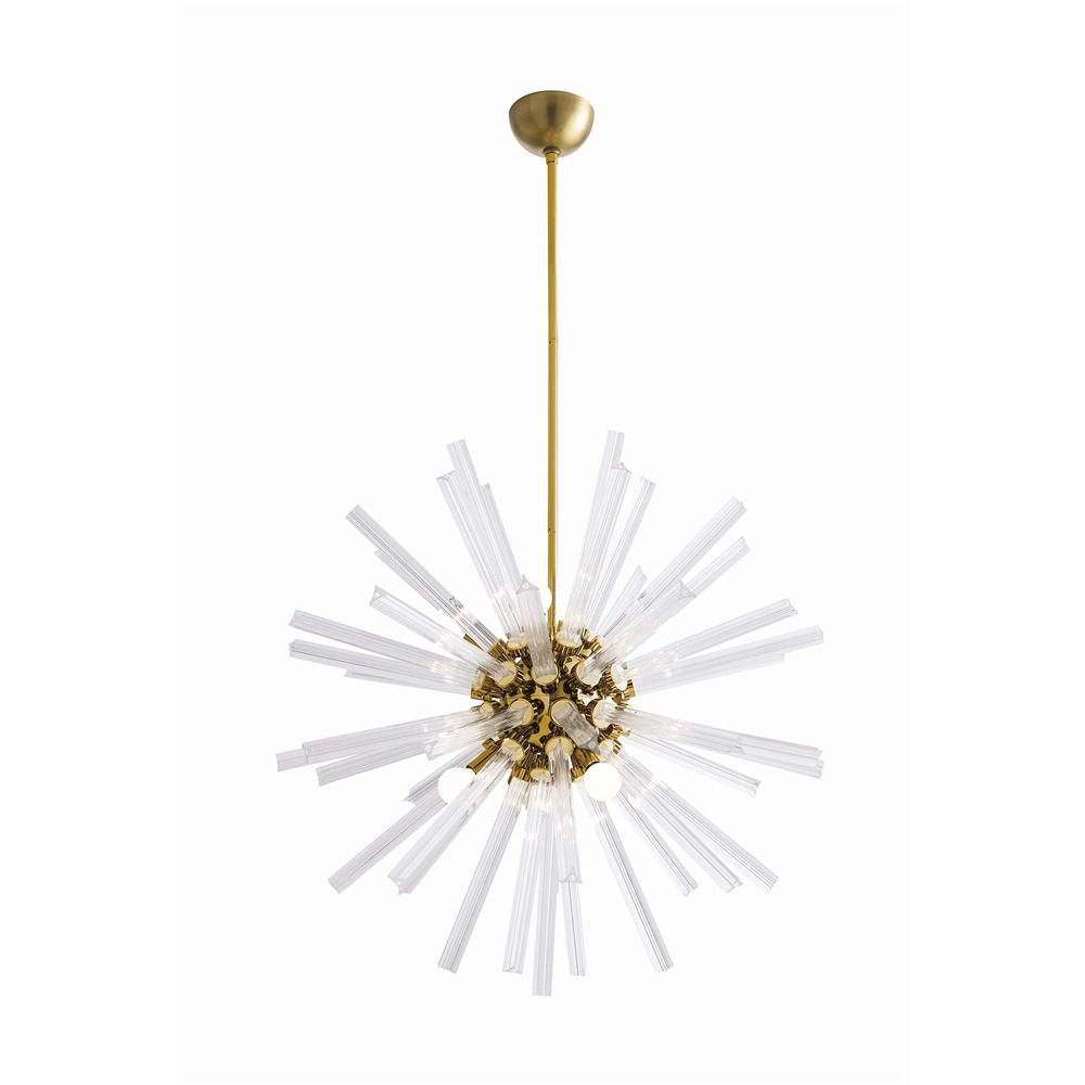 Pulp Home - Hanley Small Chandelier Brass
