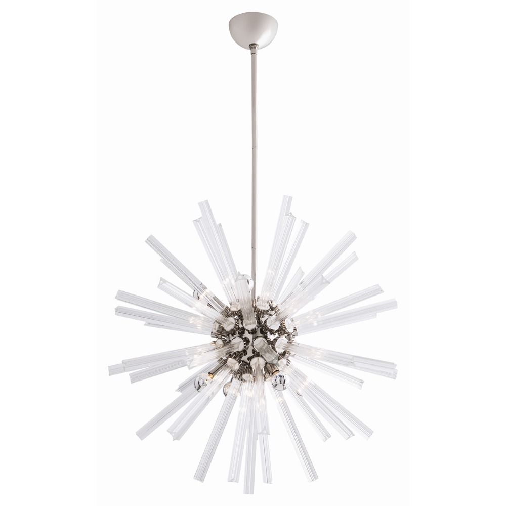Pulp Home - Hanley Small Chandelier Nickel