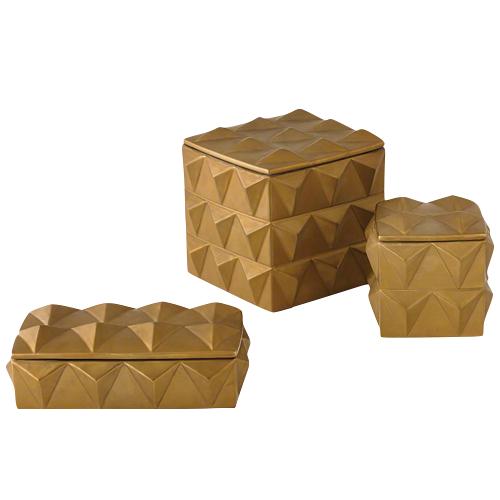 Pulp Home - Braque Box, Gold