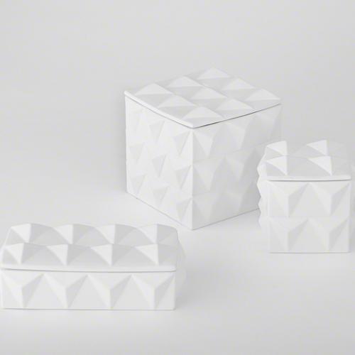 Pulp Home - Braque Box, Matte White
