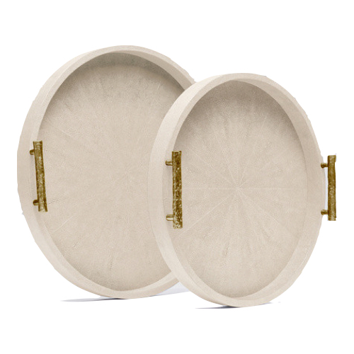 Pulp Home - Doris Ivory Gold Trays