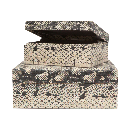 Pulp Home - Snakeskin Boxes