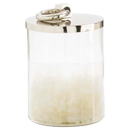 Pulp Home - Glass Containter, Nickel - Medium