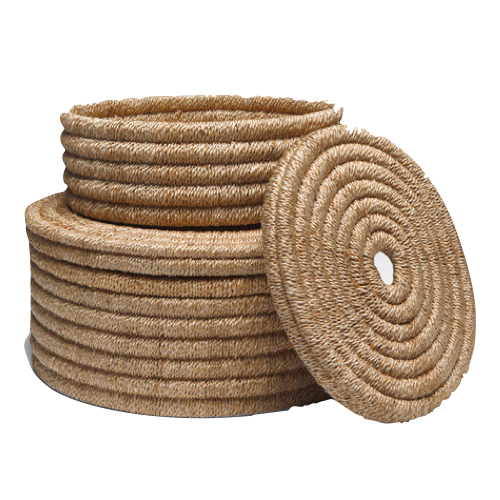 Pulp Home - Round Woven Containers